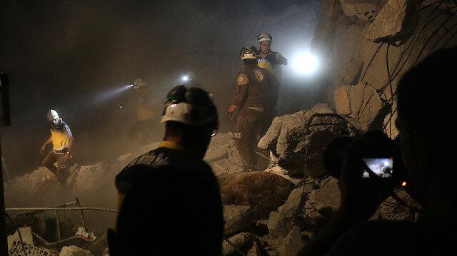Esed rejimi İdlib'i yine vurdu
