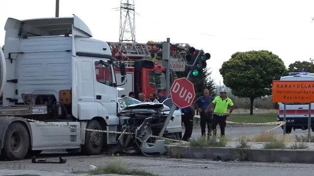 İl Emniyet Müdürü Karabörk trafik kazası geçirdi: Eşi hayatını kaybetti