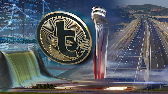 Dev projelerde yerli kripto para kullanılacak