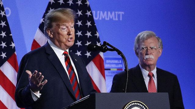 Trump: Bolton büyük bir hata yaptı