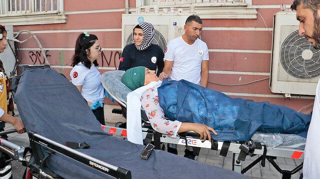 HDP önünde bekleyen acılı anne ağıt yakarken fenalaştı