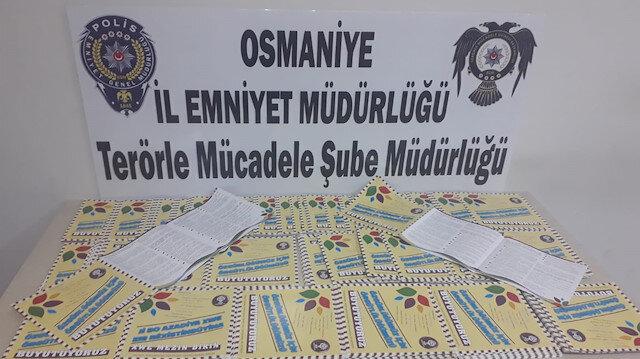 Osmaniye HDP il ve ilçe binasında arama: 1 gözaltı