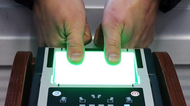 Biyometrik veri sistemi protokolü imzalandı
