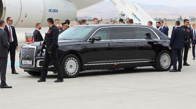 Putin'in gözbebeği ilk kez Türkiye'de
