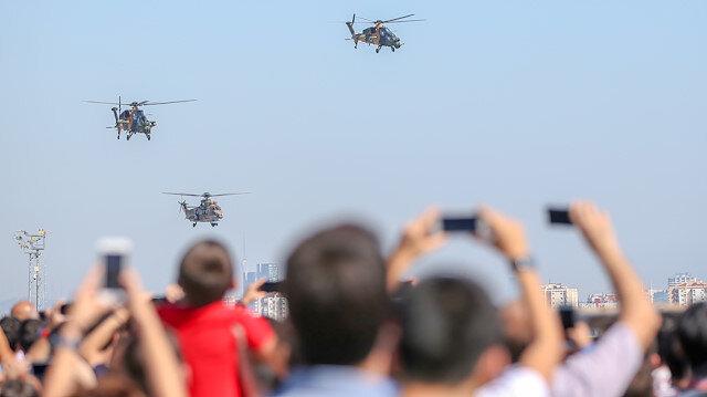 TEKNOFEST'te rekor: İki günde 250 bin ziyaretçi ağırlandı