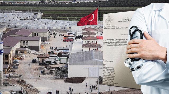 Suriye sınırında hareketli saatler: Doktorların izinleri iptal edildi