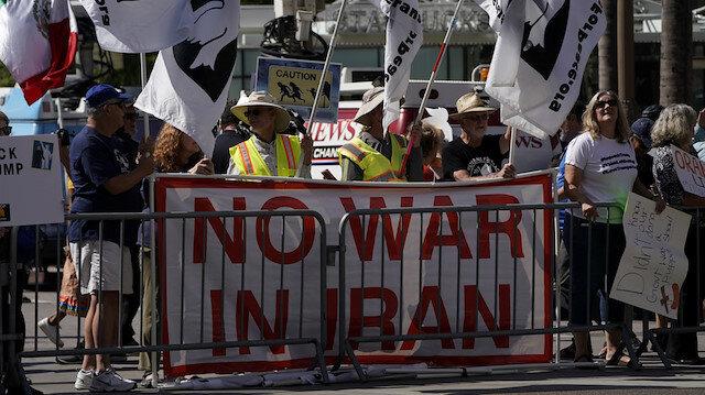 ABD'li siyasetçiler Trump'a cevap verdi: Savaş çözüm değil