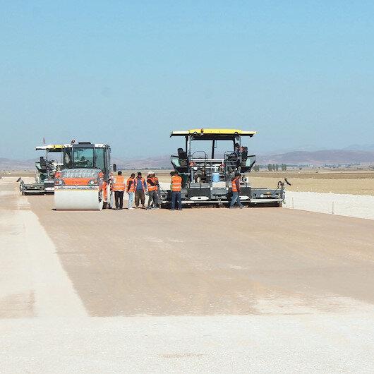 Salyazı Havalimanı 2020'de tamam