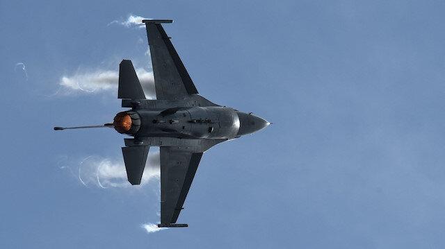 Türk F-16'lardan Suriye hava sahasında ikinci uçuş