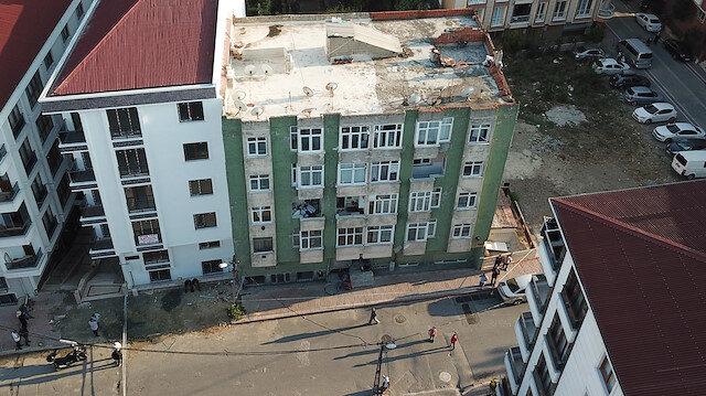İstanbul'da yaşanan depremin ardından 7 ilçede 21 bina mühürlendi