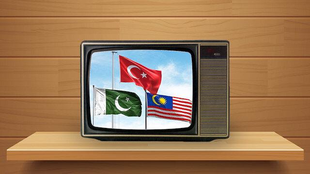 Türkiye, Pakistan ve Malezya harekete geçti: İslamofobiye karşı televizyon kanalı kurulacak