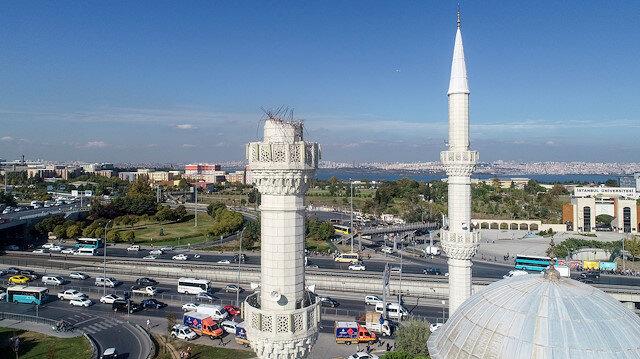 İstanbul Avcılar'da depremde minaresi yıkılan cami mühürlendi
