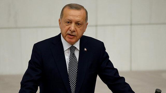 Cumhurbaşkanı Erdoğan'dan Fırat'ın doğusuna harekat mesajı: Bir gece ansızın gelebiliriz