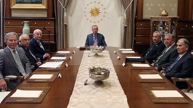 Cumhurbaşkanlığı Yüksek İstişare Kurulu ilk toplantısını Erdoğan başkanlığında yaptı