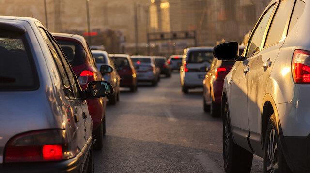 Trafiğe 8 ayda 419 bin 944 aracın kaydı yapıldı, toplam taşıt sayısı 23 milyonu aştı