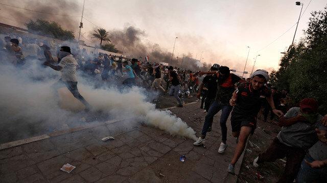 Irak'taki gösteriler altıncı gününde: 104 kişi öldü 6 bin 107 kişi yaralandı