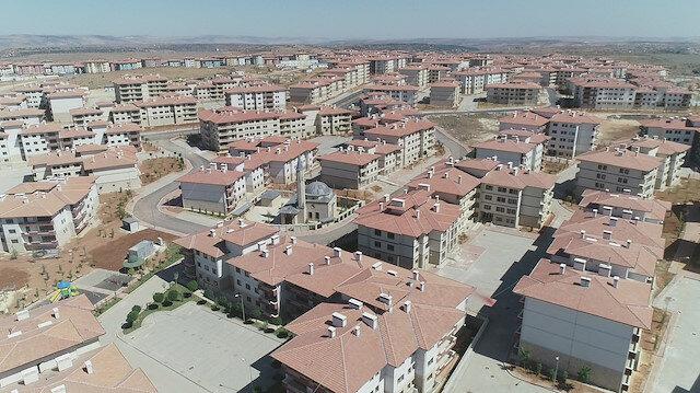 'Türkiye'nin en büyük konut projesi'nde hayat başlıyor: 250 bin kişi yaşayacak