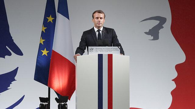 Fransa Cumhurbaşkanı Macron'dan YPG/PKK'ya destek sözü