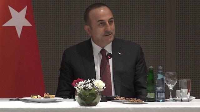 Dışişleri Bakanı Çavuşoğlu: Harekatımızı bir notayla Şam rejimine bildirdik