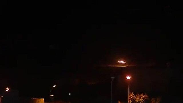 Tel Abyaddaki terör hedefleri yoğun ateş altına alındı