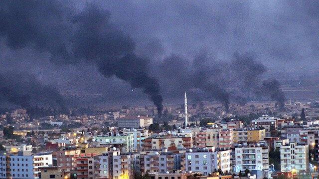Barış Pınarı Harekatı'nda 2. gün: Resulayn'dan dumanlar yükseliyor
