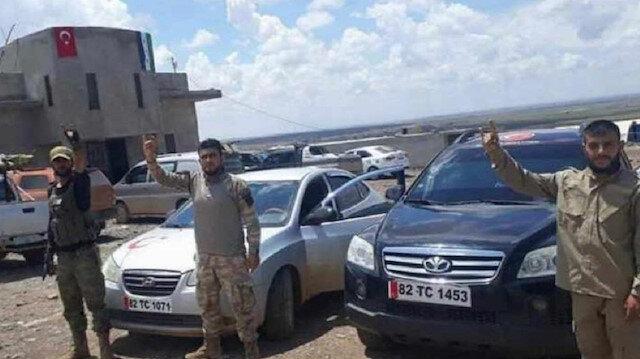 ÖSO güçleri '82' plakayla Suriye'de ilerliyor!