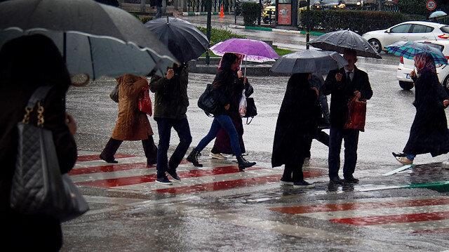Meteorolojiden İstanbul ve bazı illere yağış uyarısı yapıldı
