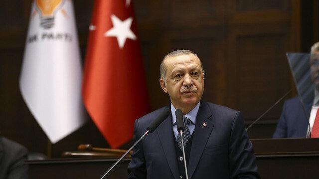 Cumhurbaşkanı Erdoğan milli takımı tebrik etti