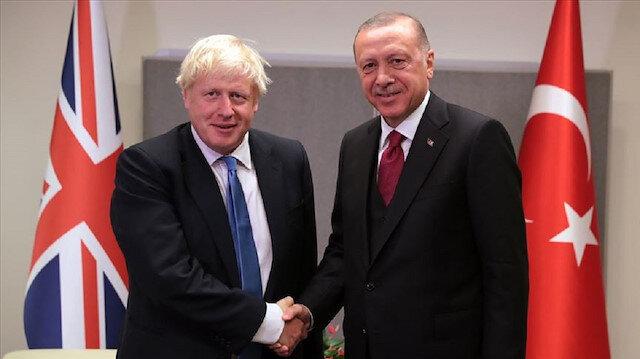 Cumhurbaşkanı Erdoğan ile Boris Johnson telefonda görüştü: Barış Pınarı'nın amacı anlatıldı