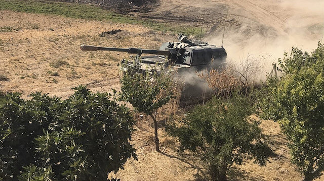Barış Pınarı Harekatı'nda 6. gün: 550 terörist etkisiz hale getirildi