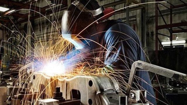 Sanayi üretimi yıllık bazda yüzde 3,6 düşüş gösterdi