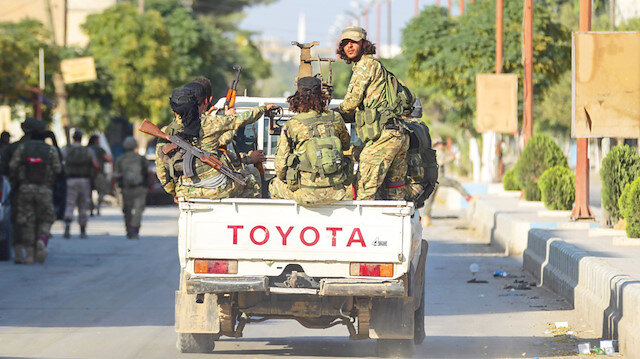 Tel Abyad'dayız