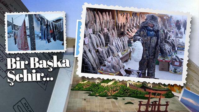 Dünyanın buz tutmuş kasabası:  Oymyakon