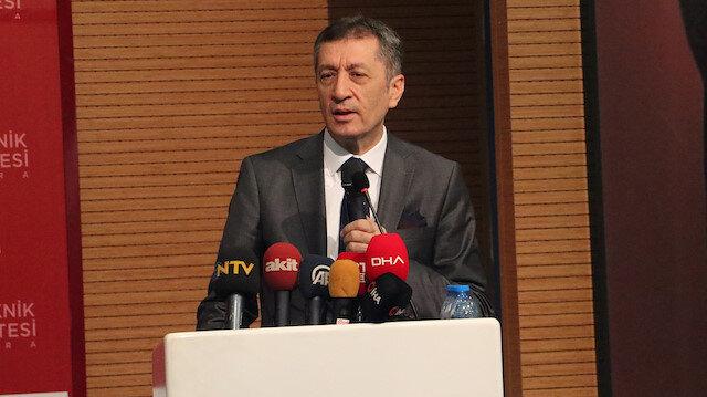 Milli Eğitim Bakanı Ziya Selçuk: Telafi eğitimi verilecek