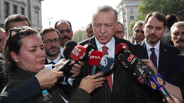 Cumhurbaşkanı Erdoğan'dan mutabakat açıklaması: Güvenli bölgeden teröristlerin çekilmesi başladı