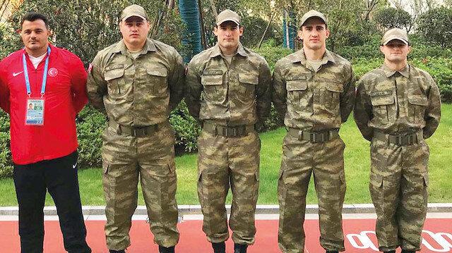 Türk Silahlı Kuvvetleri Grekoromen ve Serbest Güreş Milli Takım kadrosu