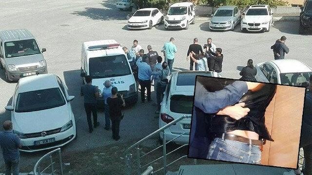 Eski başkan Denizlispor basın toplantısını silahla bastı