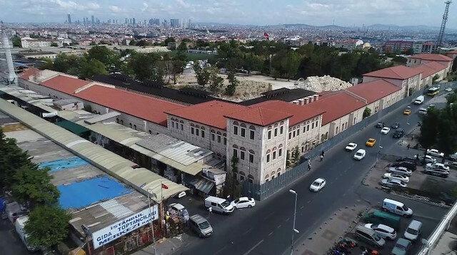 250 yıllık geçmişe sahip Rami Kışlası Türkiye'nin en büyük kütüphanesi olacak