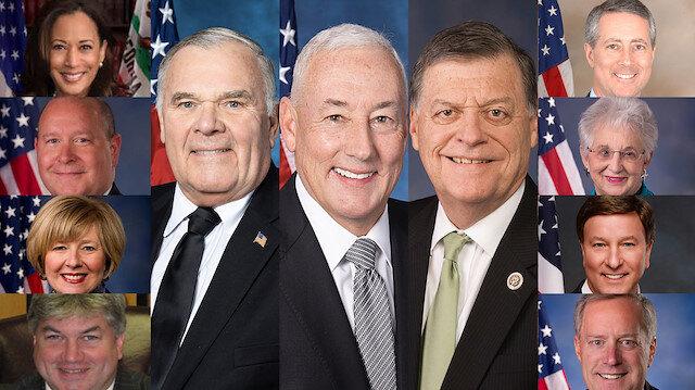 ABD Temsilciler Meclisi'nden geçen skandal 'sözde soykırım' tasarısında 'ret' oyu veren 11 kongre üyesi