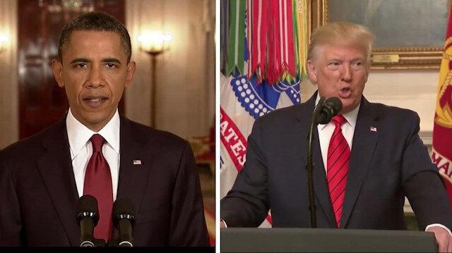 Benzer açıklama iki ayrı tarz: Obama ve Trump