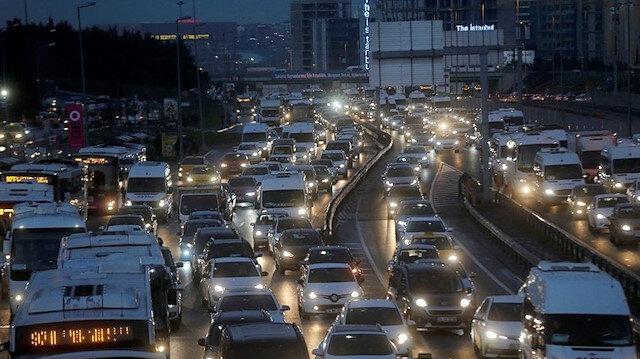 İstanbul'da trafik durma noktasına geldi: Yüzde 78'lere ulaştı