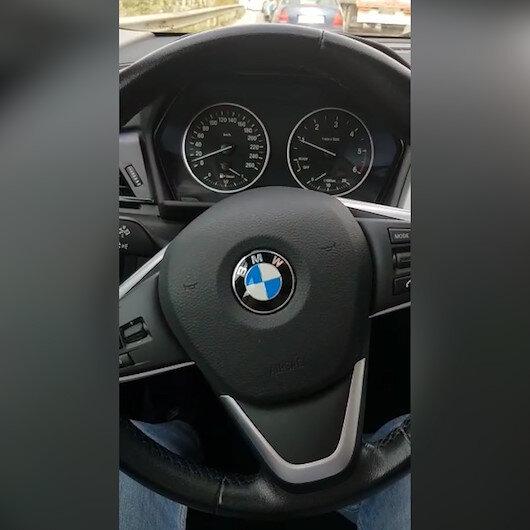 Sıfır km aldığı BMW araç hasarlı çıktı