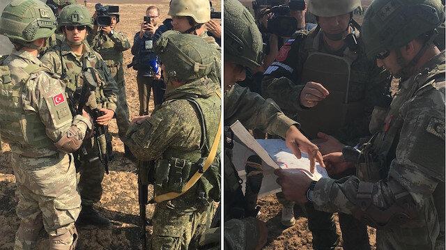 Fırat'ın doğusunda Türk ve Rus askerlerince ilk ortak kara devriyesi başladı
