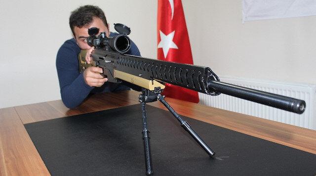 Cumhurbaşkanı Erdoğan'ın direktifleriyle 'sniper tüfeği' üretildi: Yüzde 100 yerli ve milli