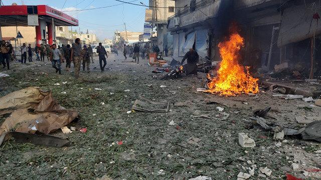 Tel Abyad'da bombalı saldırı: En az 13 sivil öldü, 20 kişi yaralandı