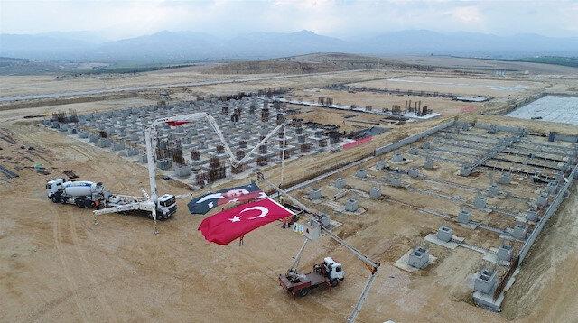 700 kişiye istihdam sağlayacak tesisin temeli atıldı: 2020 yılında üretime başlayacak
