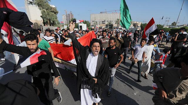Irak'ta isyan büyüyor: Tahran'ın müdahalelerini istemiyoruz