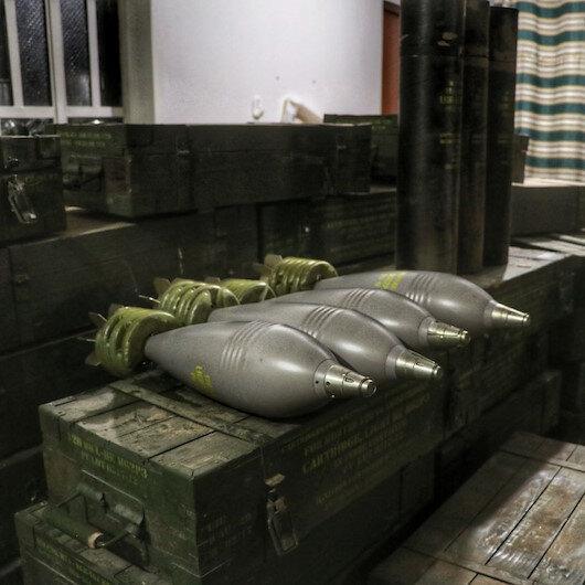 PKKnın silah deposunda ABD havanları çıktı