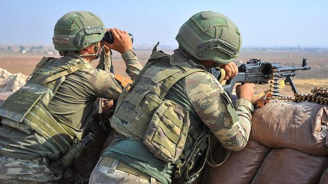 MSB: Teröristler Barış Pınarı Harekatı bölgesine yönelik son 24 saatte 11 taciz/saldırı gerçekleştirdi