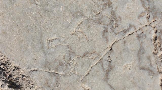 Laodikya Antik Kenti'nde 1500 yıllık üç grafiti bulundu
